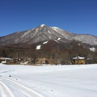 飯綱高原の雪景色